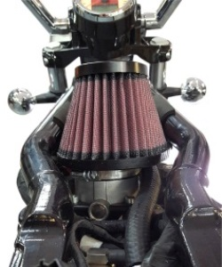 Indian Scout | Bobber | Sixty High Flow Air intake TM-8000 on bike